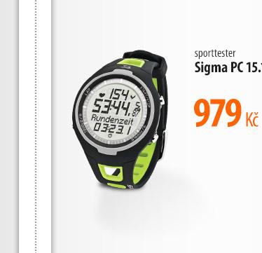 Sporttester Sigma PC 15.11