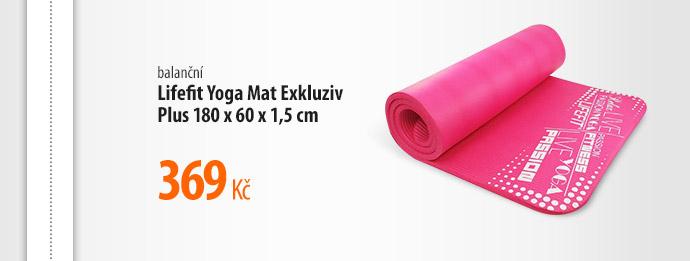 Balanční podložka Lifefit Yoga Mat Exkluziv Plus