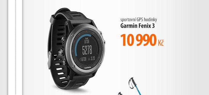 Sportovní GPS hodinky Garmin Fenix 3