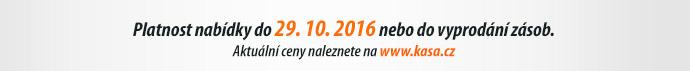 Platnost nabídky do 29. 10. 2016 nebo do vyprodání zásob.