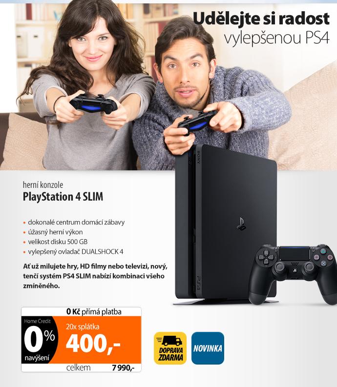 Herní konzole Sony PlayStation 4 SLIM