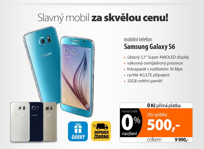 Mobilní telefon Samsung Galaxy S6