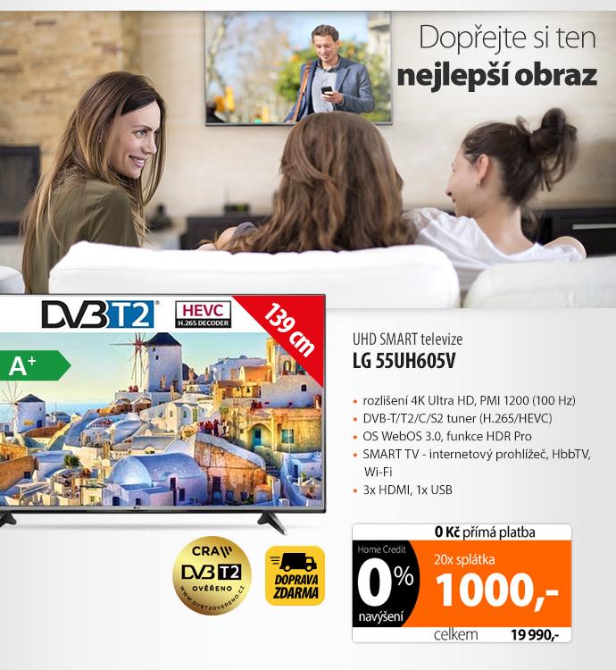 Televize LG 55UH605V