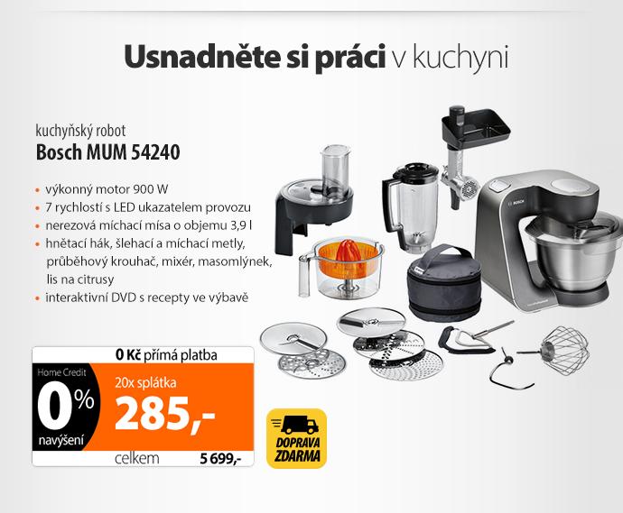 Kuchyňský robot Bosch MUM54240