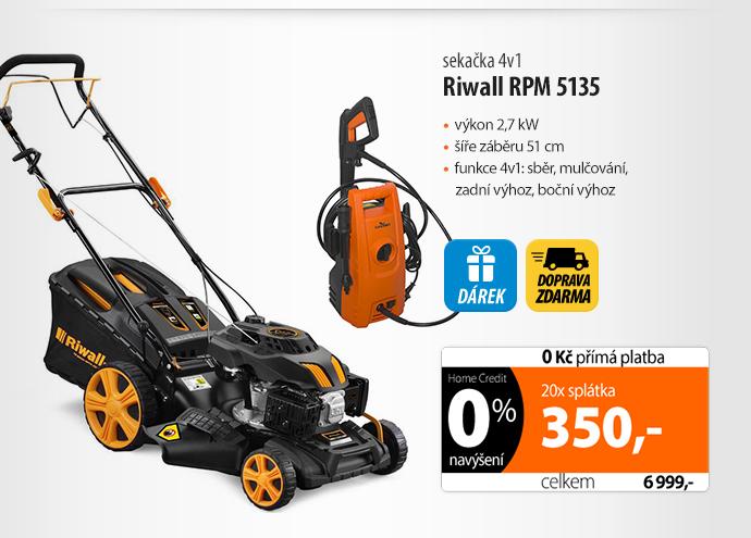 Sekačka Riwall RPM 5135 4in1