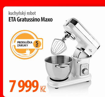 Kuchyňský robot ETA Gratussino Maxo