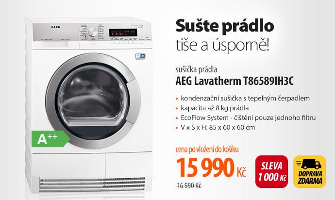 Sušička AEG Lavatherm T86589IH3C