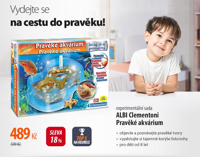 Albi Clementoini Pravěké akvárium