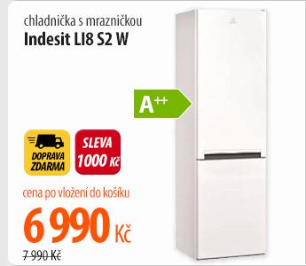 Lednice Indesit LI8 S2 W