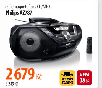 Radiomagnetofon Philips AZ787
