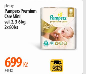 Plenky Pampers Premium Care Mini