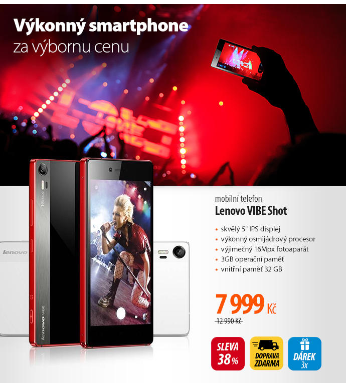 Telefon Lenovo Vibe Shot