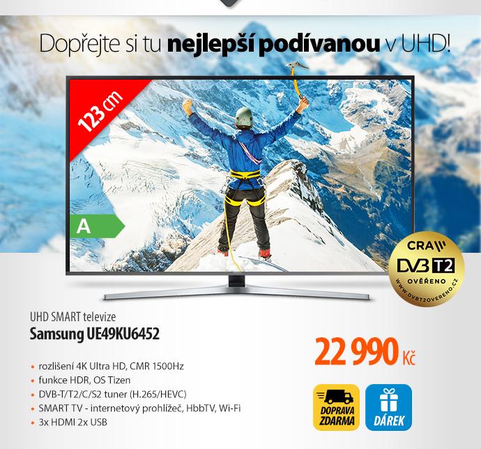 UHD Smart TV Samsung UE49KU6452