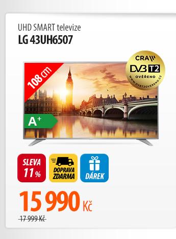 UHD Smart TV LG 43UH6507