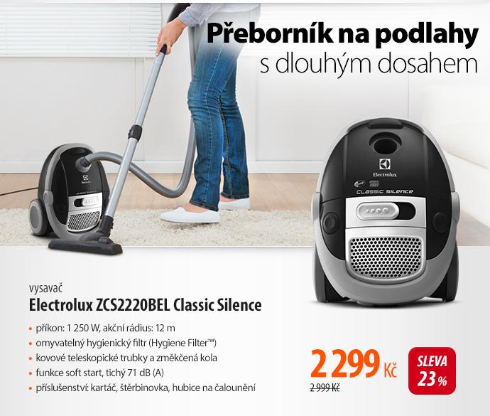 Vysavač Electrolux ZCS2220BEL Classic Silence