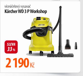 Vysavač Kärcher WD 3 P Workshop