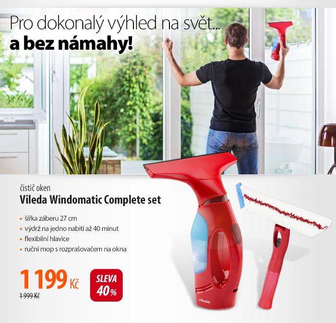 Čistič oken Vileda Windowmatic Complete