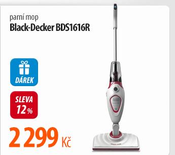 Parní mop Black-Decker BDS1616R