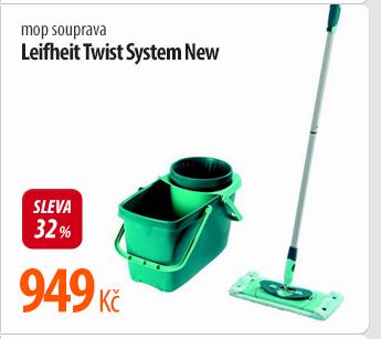 Mop Leifheit Twist System New