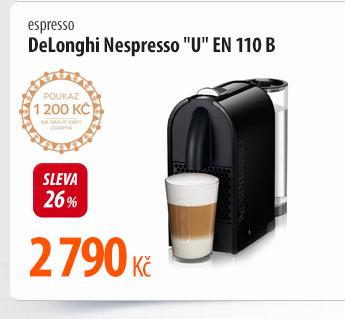 Espresso DeLonghi Nespresso U EN 110 B