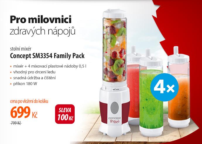 Stolní mixér Concept SM3354 Family Pack
