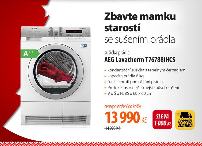 Sušička AEG Lavatherm T76788IHCS