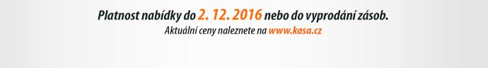 Platnost nabídky do 2. 12. 2016 nebo do vyprodání zásob.