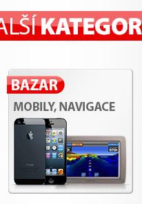 Telefony a navigace