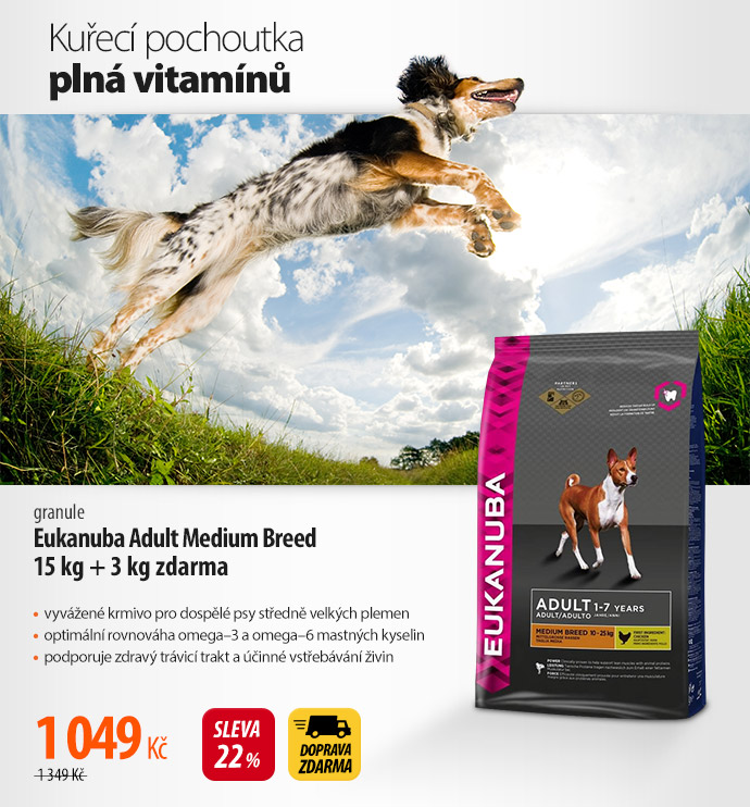 Granule Eukanuba Adult Medium Breed