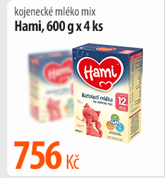 Kojenecké mléko Hami