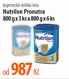 Kojenecké mléko Nutrilon Pronutra