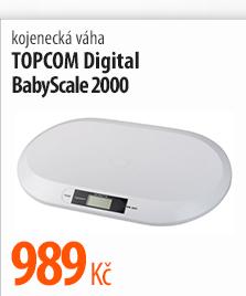 Kojenecká váha Topcom Digital BabyScale 2000