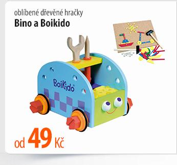 Dřevěné hračky Bino a Boikido