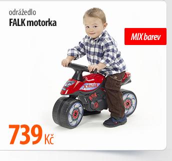 Odrážedlo Falk motorka