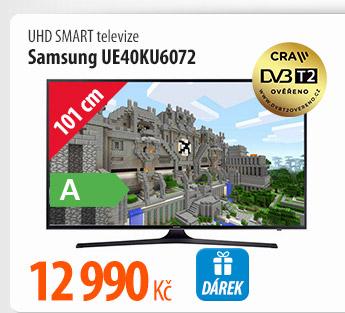 UHD Smart TV Samsung UE40KU6072