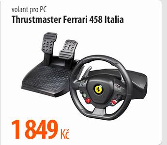 Volant k PC Thrustmaster Ferrari 458 Italia