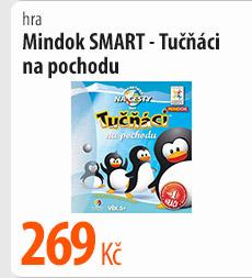 Hra Mindok Smart Tučňáci na pochodu