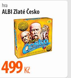 Hra Albi Zlaté Česko