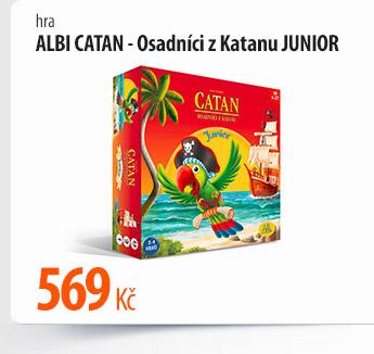 Hra Albi Catan Osadníci z Katanu Junior