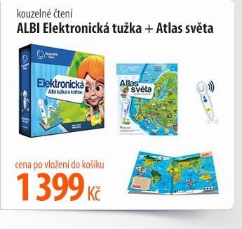 Kouzelné čtení Albi Elektronická tužka Atlas světa