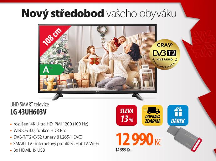 UHD Smart TV LG 43UH603V