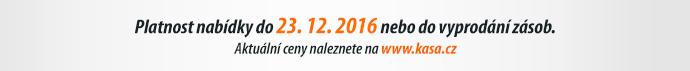 Platnost nabídky do 23. 12. 2016 nebo do vyprodání zásob.