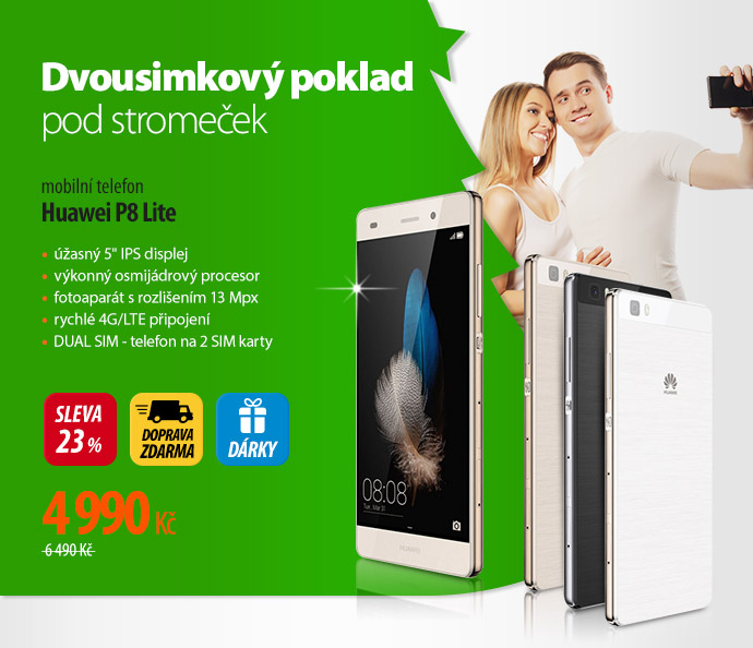 Telefon Huawei P8 Lite