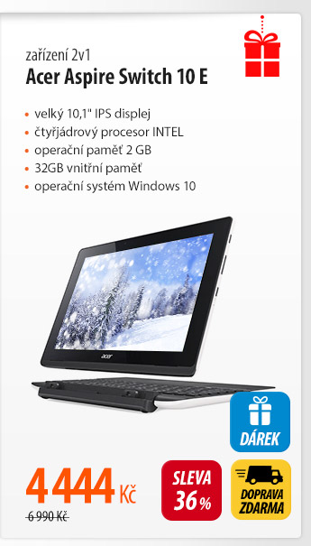 Tablet Acer Aspire Switch 10 E