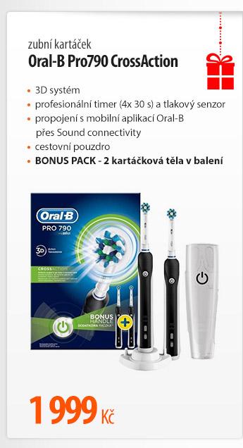 Kartáček Oral-B Pro790 CrossAction