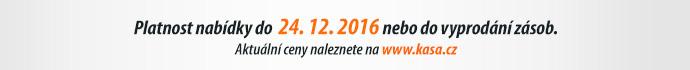 Platnost nabídky do 24. 12. 2016 nebo do vyprodání zásob.