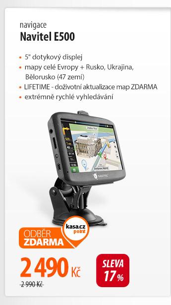 Navigace Navitel E500