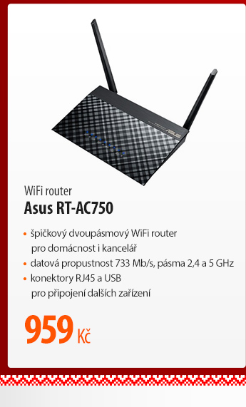 WiFi router Asus RT-AC750