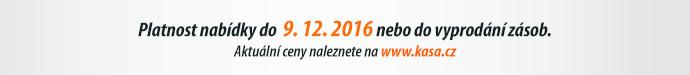 Platnost nabídky do 9. 12. 2016 nebo do vyprodání zásob.
