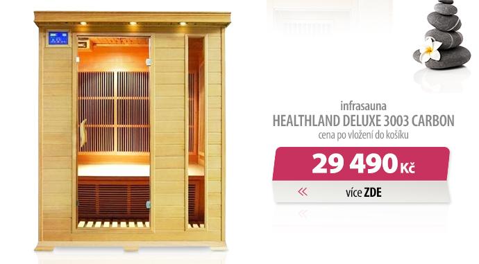 Infrasauna Healthland Deluxe 3003 Carbon